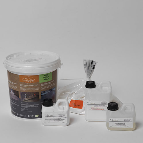 mini kit claystone b ton cir d 39 argile pour les murs int rieurs 2 5 m. Black Bedroom Furniture Sets. Home Design Ideas